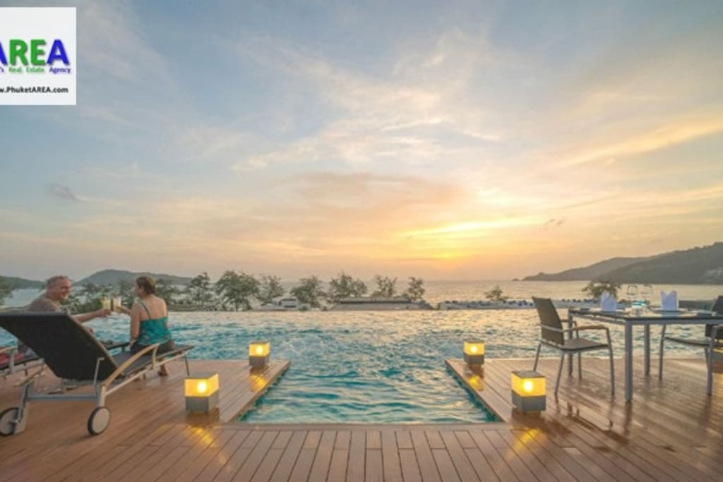 Sea View Infinity Pool