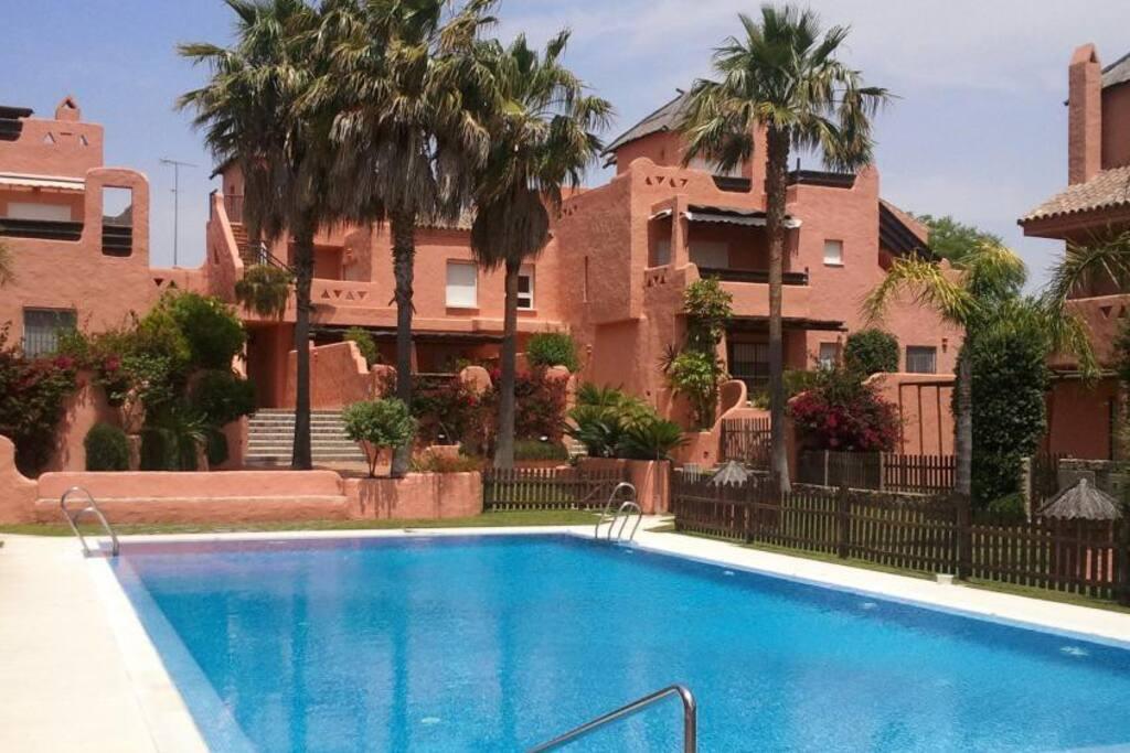 Casa playa con jardin paradisiaco casas en alquiler en puerto de santa mar a andaluc a espa a - Alquiler puerto santa maria ...