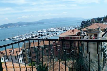 """""""BAIAVISTA"""" appartamento vista mare - Fezzano"""