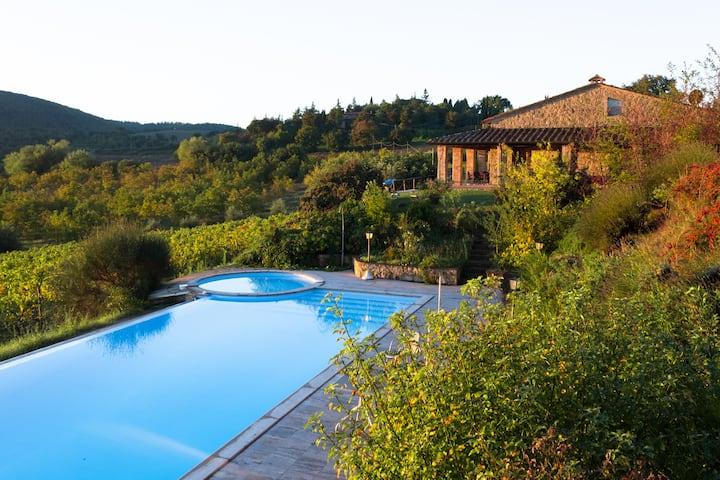 Villa a Montepulciano con Piscina