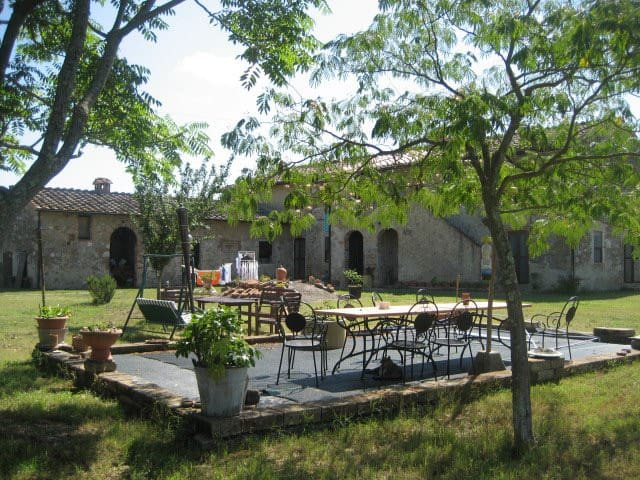 Farmhouse in the Tuscan countryside - Colle di Val d'Elsa - Huis