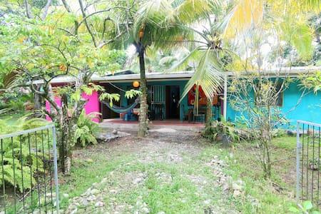 Little cabin near the Caribbean sea