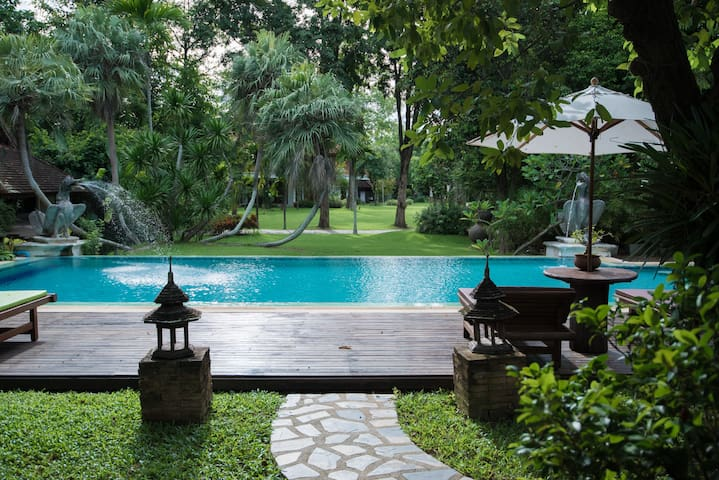 Taladya homestay houses for rent in chiang mai thailand for Chiang mai house for rent swimming pool