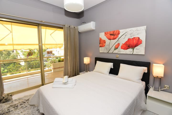 See Athens relaxing apartment for 2 - Marousi - Apartment