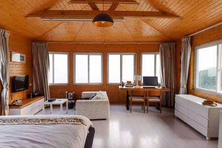 珍藏美景和故事的临海院墅---床上看日出的无敌海景房  seaview - 厦门 - Villa