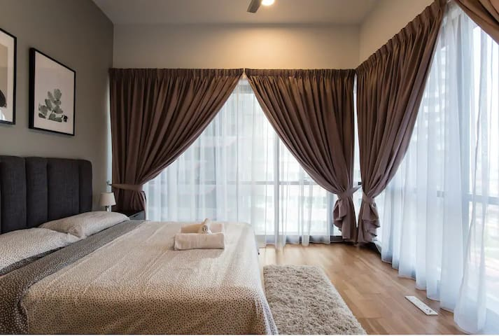 THE Elements 1-Bedroom Apt Cozy & Shinny 2km KLCC