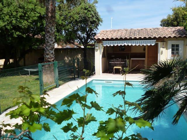 Appartement T2  avec accès piscine - Fos-sur-Mer - アパート