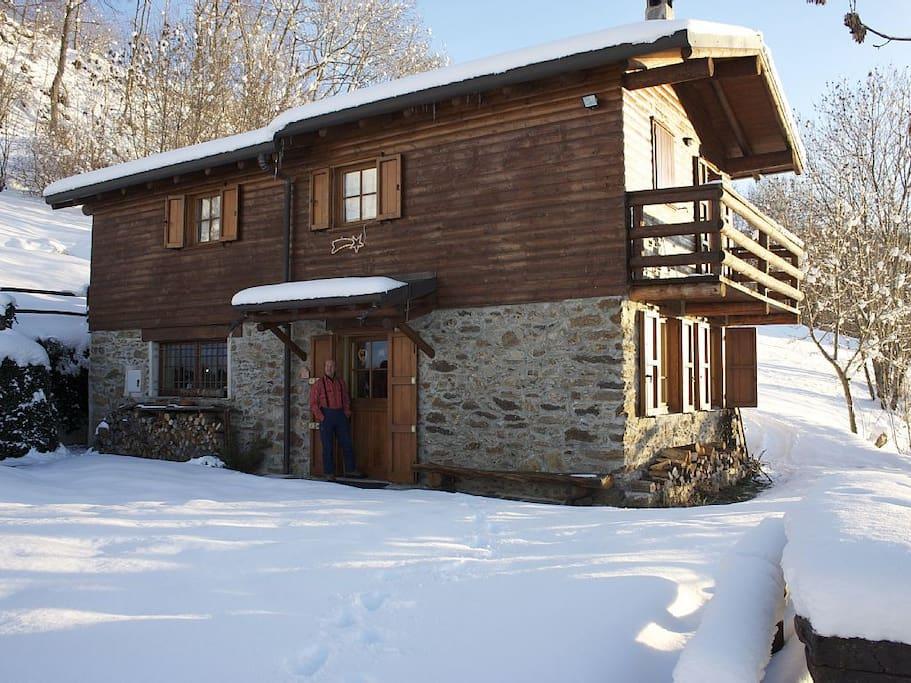 Accogliente e silenzioso cottage sanico for Piani casa cottage shotgun