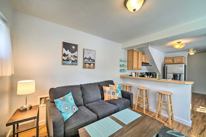 Remodeled Bozeman Apartment, Walk to Main Street!