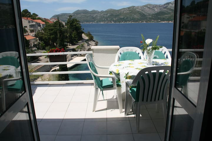 Cozy and amazing seaview apartment - Žrnovo - Daire