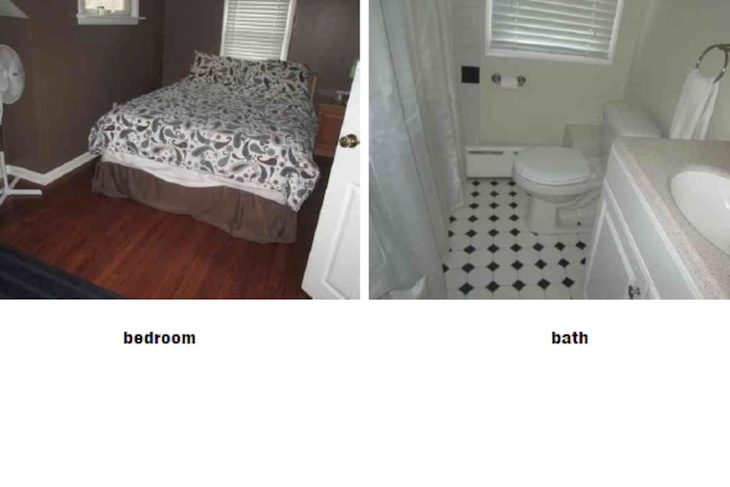 Bedroom 2 and Bath 2