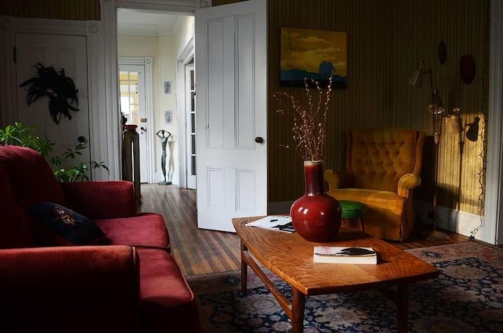 Artsy Victorian Gem - ブラトルバラ - 一軒家