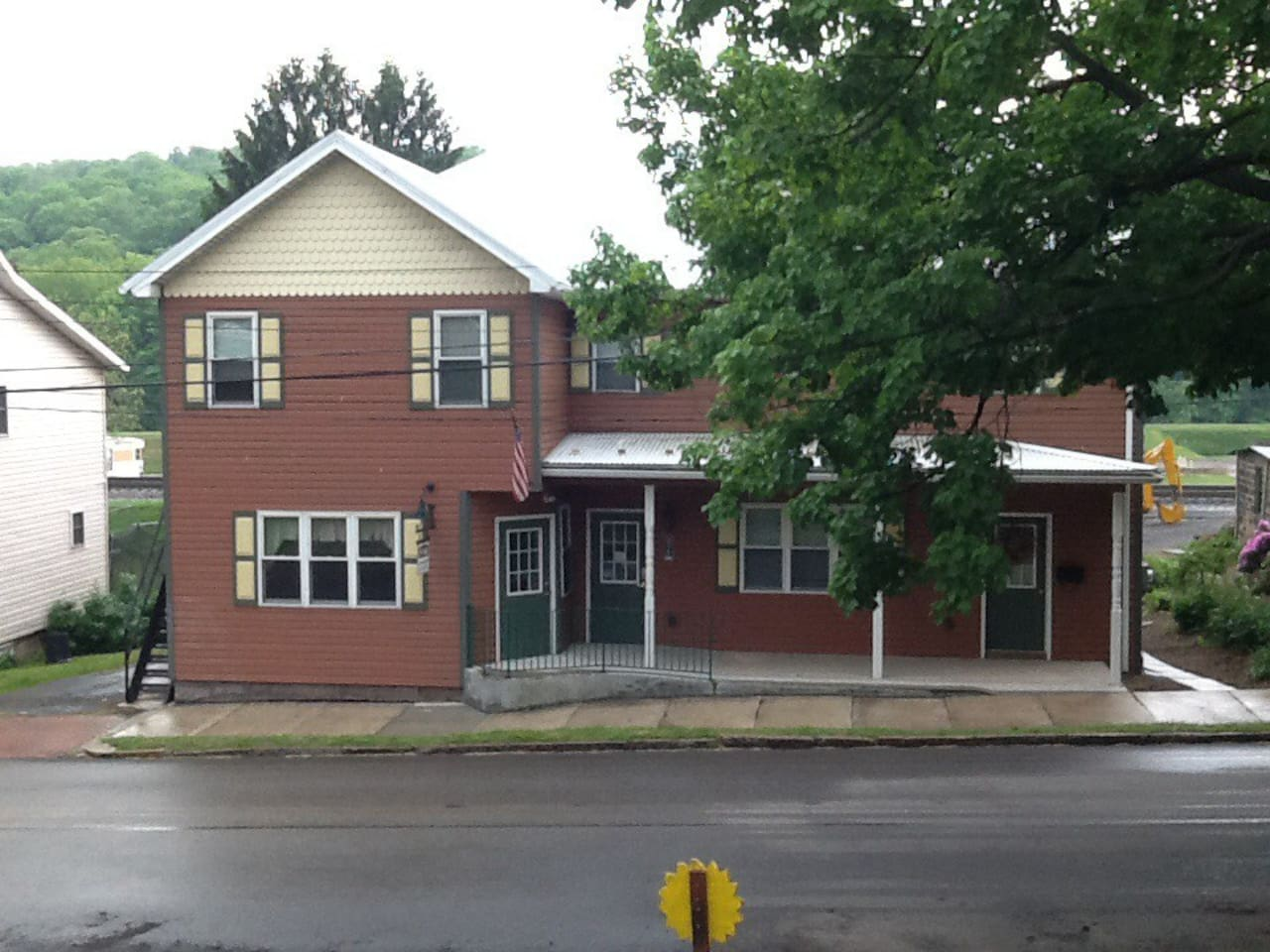 We're located at 506 Main Street in Rockwood PA