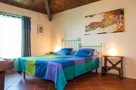 Romantic and quiet stay near Siena - Monticiano - Wohnung