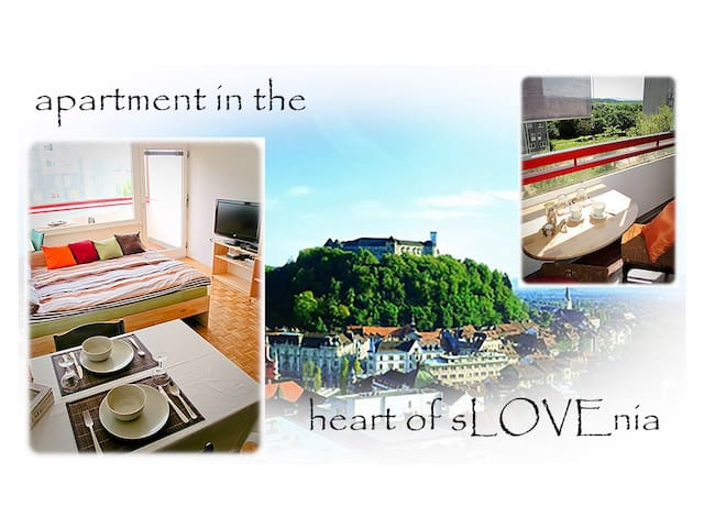 Apartment in the heart of sLOVEnia - Ljubljana - Apartemen