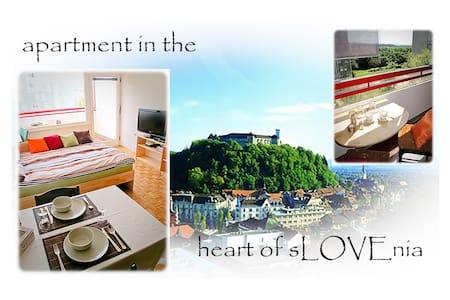 Apartment in the heart of sLOVEnia - Liubliana