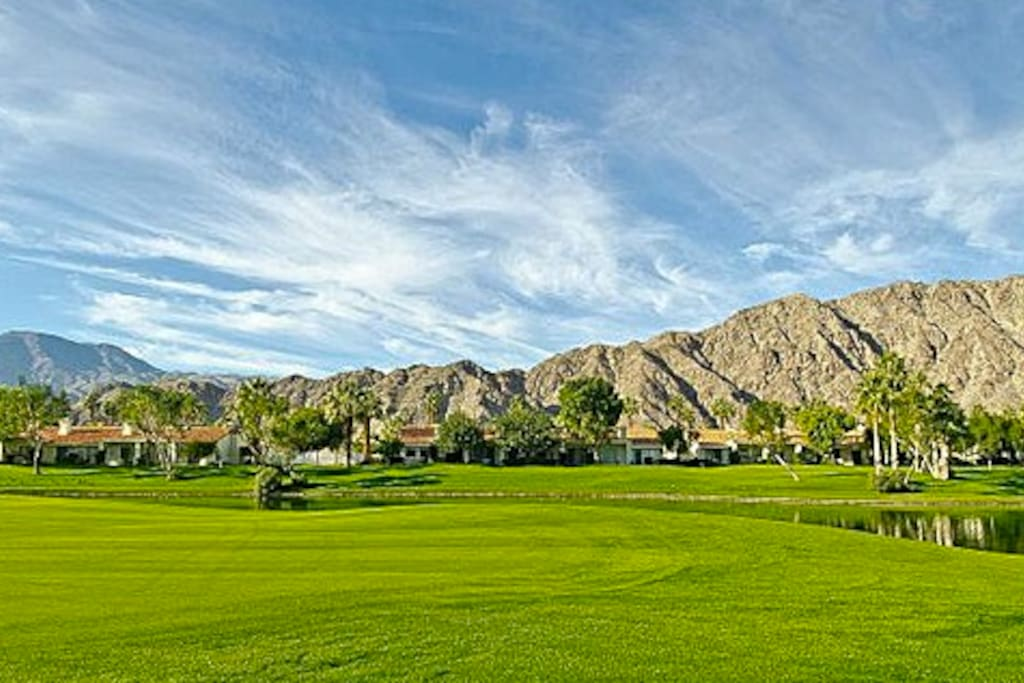 Arnold Palmer Course in PGA West (your front lawn)!