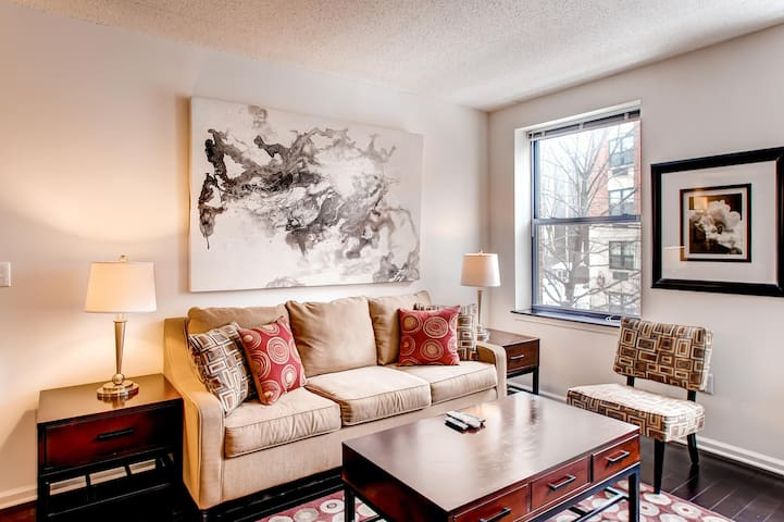 Lux Morristown Green 1 Bedroom w/WiFi - Morristown - Appartement