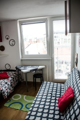 BUDGET STUDIO IN THE CENTER - Ljubljana - Appartement