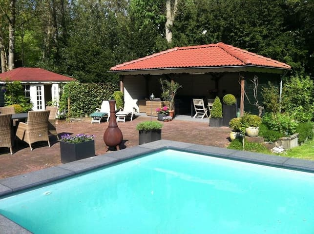luxury villa with swimmingpool - Aerdenhout - Bed & Breakfast
