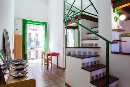 Cosy Loft close to Central Station - Palermo - Leilighet