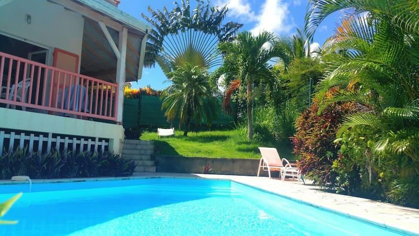 Villa charme piscine confort plage 350m SainteAnne