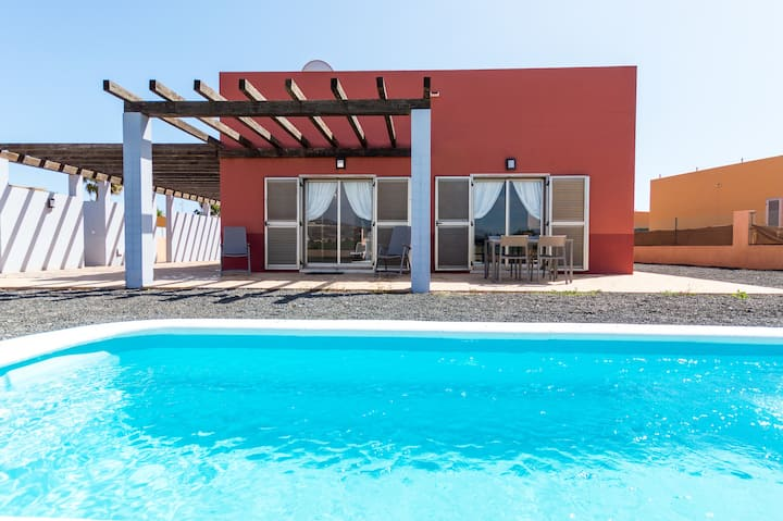 Fuerte Holiday Villa GOLF VIEW and POOL