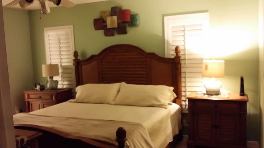 master bedroom /king bed