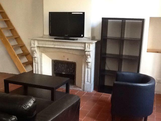 Studio/loft centre ville