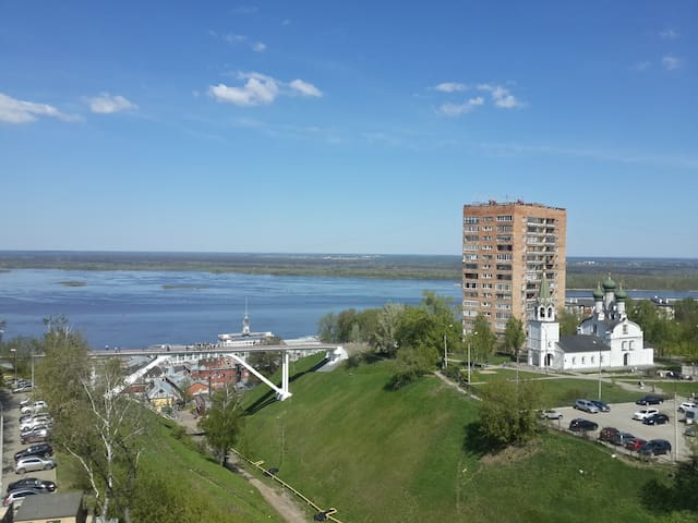 In the heart of the city - Nizhny Novgorod