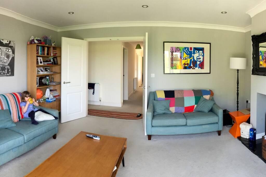 comfy lounge