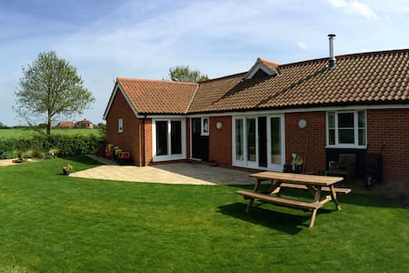 Bawdsey Bungalow on Suffolk Coast - Bawdsey, Woodbridge - 獨棟