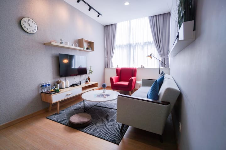 Spacious Cozy Changkat Bukit Bintang 4-5pax章卡武吉免登区