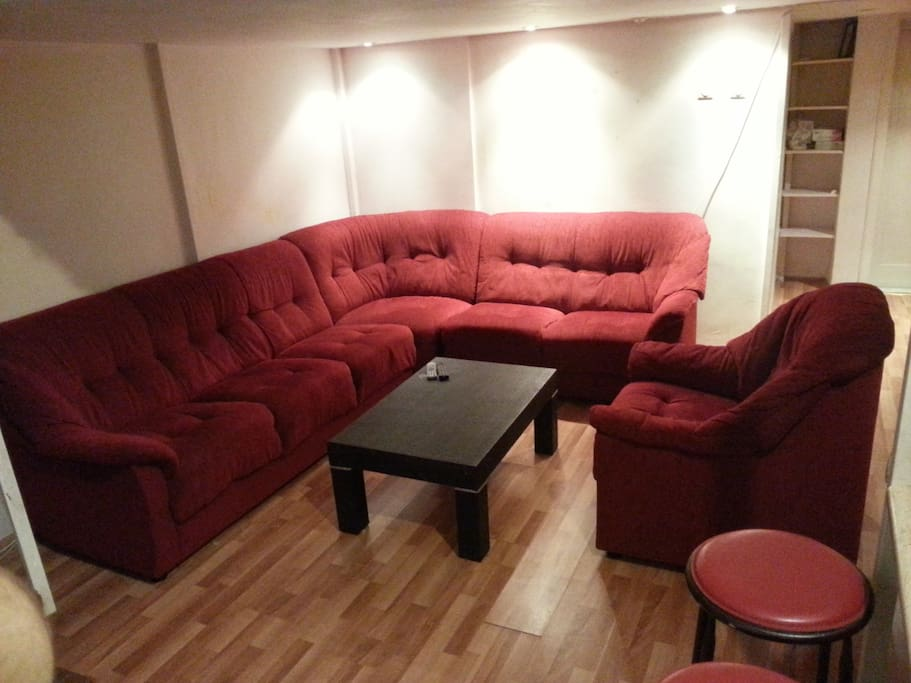 Cosy nice living room