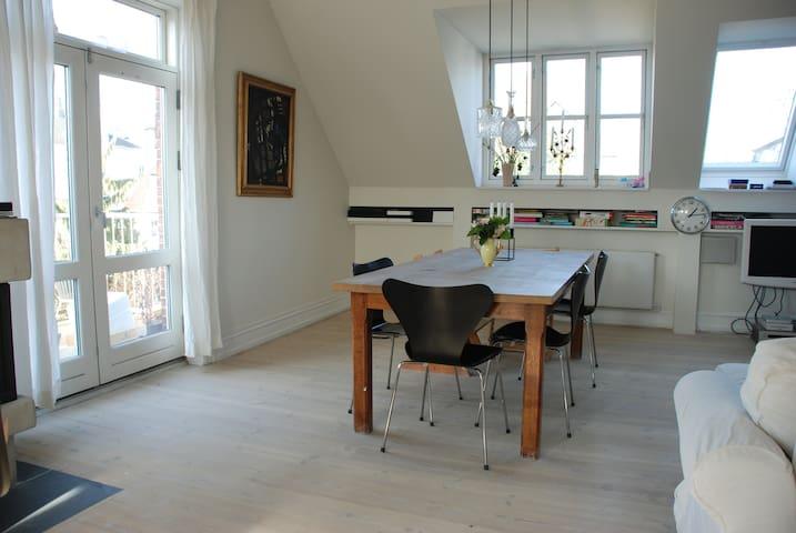 Copenhagen loft + garden and sea - Copenhague - Loft