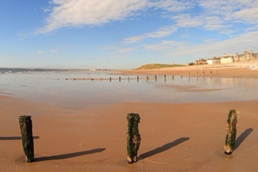Youghal Beach on a summers day
