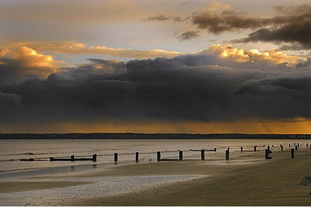 Youghal Beach at Dusk