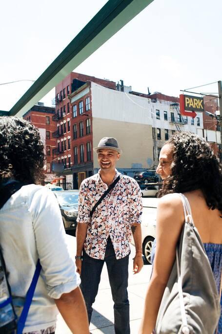 뉴욕의 거리 예술 둘러보기