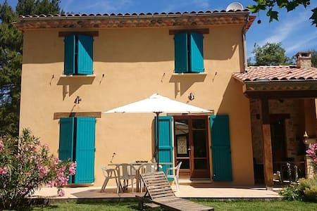 Villa 140 m² avec jardin et piscine chauffée - La Bastide-des-Jourdans - Villa