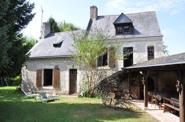 Le Logis du Petit Bray - Le Guédeniau - Huis