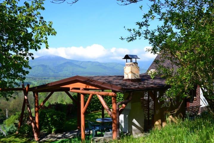 Chata u pramene - Bystřice - บ้าน