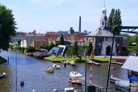 Best view in Leiden! Bright appt - Leiden