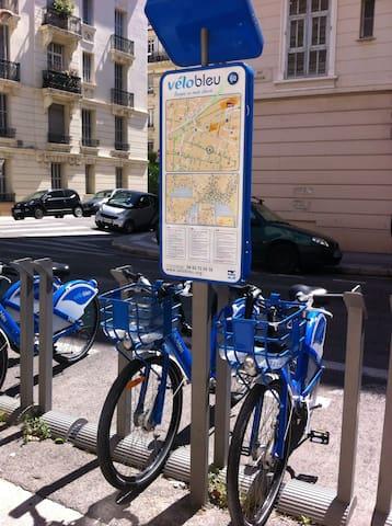 Vélos Bleus