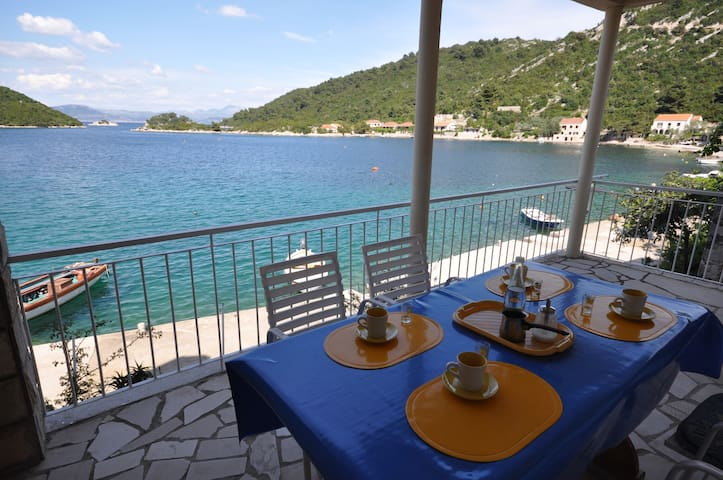 APARTMENT ANA WITH SEA VIEW - Island Of Mljet - Apartamento