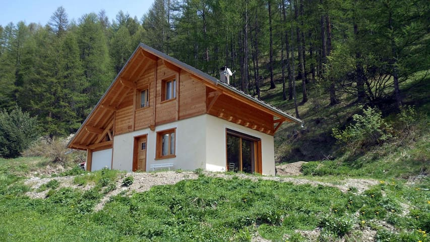 Joli chalet familial en bois - Arvieux - Chalé