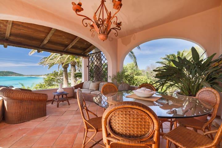 meravigliosa villa sul mare