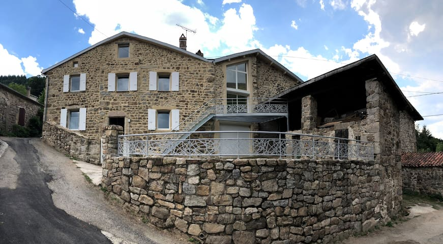 Guesthouse up to 6pers. in North Ardèche