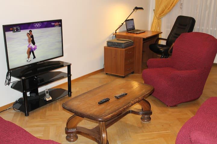 Classic Lux Apartment on the Ulyanova Street