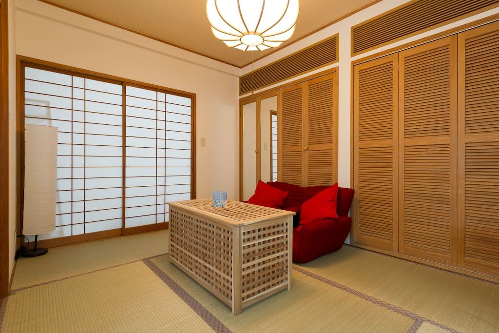Japanese style room tatami