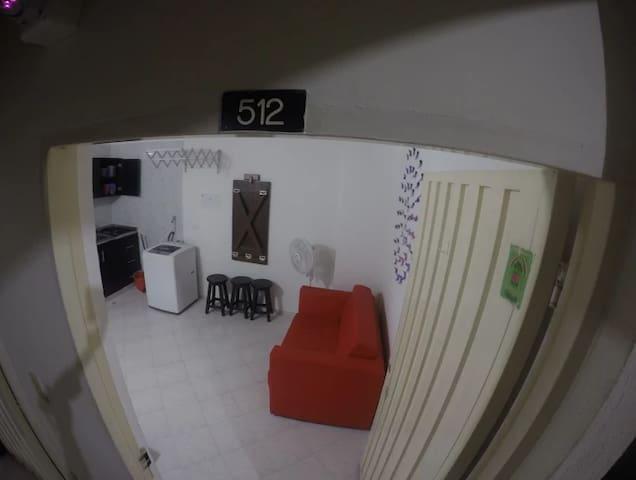Apartaestudio Funcional para 4 personas y mascotas - Bucaramanga - Appartement